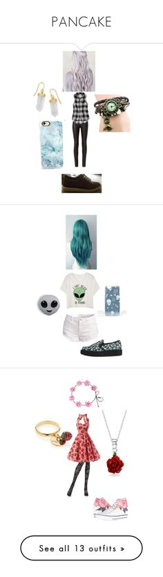 """""""PANCAKE"""" by megpuppoweris ❤ liked on Polyvore featuring rag & bone, American Eagle Outfitters, BillyTheTree, Casetify, ASOS, T.U.K., Pierre Mantoux, Converse, Bling Jewelry and Marc Jacobs"""
