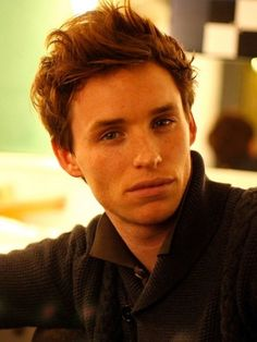 Eddie Redmayne - he went to high school with Prince William! AND now he is the beautiful Marius