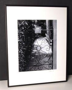 Charleston Garden Gate  Framed Photograph by EnchantedStudios, $75.00