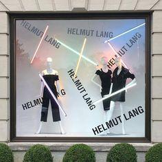 Nice use of neon lights #windowdisplay #retaillife #vmlife #helmutlang #sakslife #saksfifthavenue #lights #visualmerchandising #visualmerchandiser #vmdaily via @daniela_posey