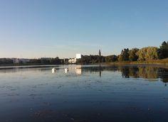 Elokuisena aamuna Töölönlahdella