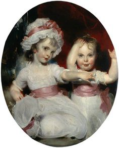 The Athenaeum - Emily and Harriet Lamb as Children (Sir Thomas Lawrence - )
