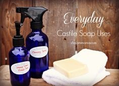 Everyday Castile Soap Uses - Shalom Mama