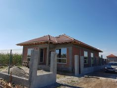 Casa pe parter in Corbeanca | CoArtCo Gazebo, Pergola, House Foundation, Design Case, Architect Design, House Plans, Outdoor Structures, House Styles, Home Decor
