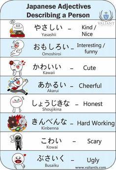 Descriptive words