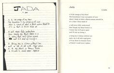 Jada 1 2pac Poems, Writing Poetry, Jada, Loving U, Bullet Journal, Words, Celebs, Artist, Movies