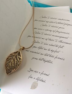 Smiling Wisdom Gold Leaf Friendship Sweater Necklace Gift Set Reason Season Lifetime Friends Greeting Card Leaf Crystal Pendant Sentiment Good or Best Friend Card Gold Long Chain *** Go to the photo link more details. (This is an affiliate link). Reason Season Lifetime, Best Friend Jewelry, Cards For Friends, Crystal Pendant, Gold Leaf, Jewelry Box, Swarovski Crystals, Friendship, Greeting Cards