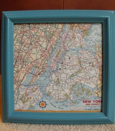 Lost Chattanooga A Fischer Evans Clock Update And Its Road Map To - Vintage road maps for sale