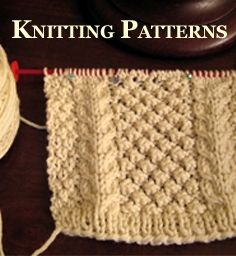 Aran knitting Patterns and Kits