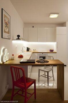 Biała kuchnia w bieli