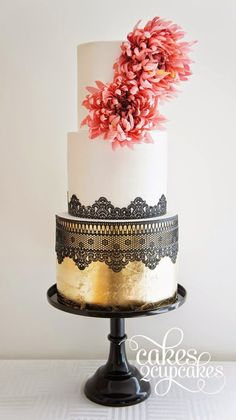 Lace Wedding Cakes - Belle The Magazine