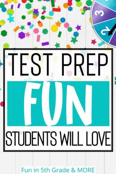 Fun test prep ideas for upper elementary math, reading, ELA Test Taking Strategies, Math Strategies, Fun Test, Test Prep, Elementary Math, Upper Elementary, Practice Math Problems, Math Websites, 4th Grade Reading