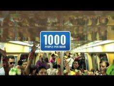 The Beer Turnstile Antarctica 2013 Rio Carnival - YouTube브라질 리오 카니발 기간중에 증가하는 음주운전을 예방하기 위한 캠페인!  광고도 행동도 승리하는 멋진 마케팅인듯!!!