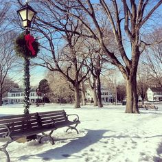 The Town Common in Franklin, #Massachusetts.