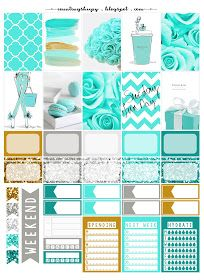 Tiffany's Planner Stickers