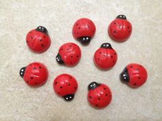 5pc Red Ladybugs Flat Back Resins Cabochons Cellphone Case Decoration PEPPERLONELY http://www.amazon.com/dp/B00EEKNBJO/ref=cm_sw_r_pi_dp_-JUoub0PN6ACR