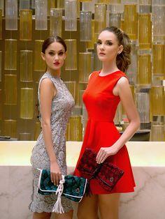 Party classics! #MARIAS #highend #partylooks #handbag