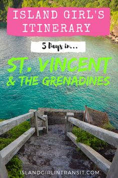 #Travel Itinerary: There's so much to see and do in St. Vincent and The Grenadines. If all you've got is 5 days to play with, here's the best way to spend them!