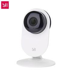 YI Home Camera 720P Night Vision Video Monitor IP/Wireless Network Surveillance Home Security Internation Version (US/EU) White #Affiliate