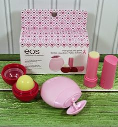 eos Limited Edition Breast Cancer Awareness Collection http://www.weidknecht.com/2014/11/eos-limited-edition-breast-cancer.html