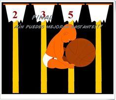 """""""Divisores"""", de mestreacasa.gva.es, es una sencilla aplicación en la que se encestan balones en tableros de baloncesto según los criterios de divisibilidad por 2, por 3 y por 5. Los balones de baloncesto bajan lentos pero pronto van aumentando su rapidez, es necesario encestar rápido. Para 1º Curso de Educación Secundaria Obligatoria y válida también para 5º y 6º niveles de Educación Primaria."""