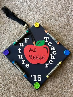 Graduation cap for education majors!