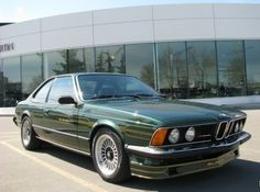 1982 BMW Alpina B7S Turbo Coupe. OH, BABY, THOSE STRIPES.