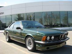 1982 BMW Alpina B7S Turbo Coupe. OH, BABY, THOSE STRIPES.