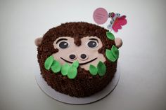 Happy Birthday Little Gorilla Cake | Coco Cake Land - Cake Tutorials, Cake Recipes, Cake Blog, Cakes Vancouver