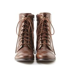 Arizona lace-up boots. I used to hate these but they're sort of growing on me.