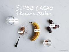 Super Cacao & Banana Shake  |  Gather & Feast