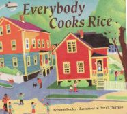 Worried about too much free time during school break? Keep learning going with Everybody Cooks Rice #bookclub #raiseareader