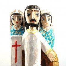 Resurection of Jesus Christ (A. Kaminski) / Folk art / polish folk art / folk sculpture