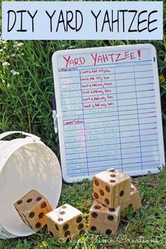 Fourth of July - DIY Yard Games - Dan330