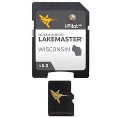 Humminbird LakeMaster Wisconsin MicroSD w/Adapter 600025-4