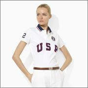 Ralph Lauren offers luxury and designer men's and women's clothing, kids' clothing, and baby clothes. Valentina Zelyaeva, Polo T Shirts, Team Usa, Comfortable Outfits, Summer Collection, Summer Outfits, Polo Ralph Lauren, Slim, Mens Tops