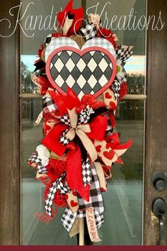 Home Decor Luxury Sharing a Valentine wreat created by Trendy Tree customer, Kandi's Kreations. It's for sale in her Etsy shop. Shop Trendy Tree online for wreath making supplies and seasonal decorations. Valentine Day Wreaths, Valentine Day Love, Valentines Day Decorations, Valentine Day Crafts, Easter Wreaths, Flower Decorations, Holiday Decorations, Valentine Ideas, Spring Wreaths