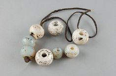 beads made of beads (glass), leather. Zimbabwe, Africa. Shona culture.