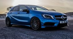 This Mercedes A45 AMG Is Appropriately Named 'Blue Magic' [48 Pics