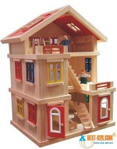 allpix.com / Wooden Toys Домик