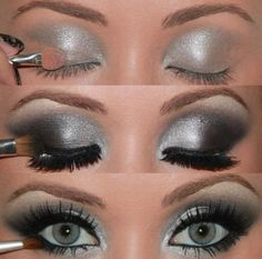 I would love to do my make up like this!