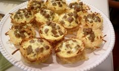 Sausage, Egg & Cheese Hash Brown Cups 3 Weight Watchers Points+