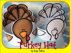 printable turkey hat craft