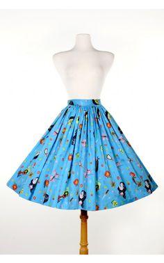 Jenny Skirt in Snow White Print