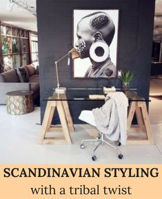 Home office décor ideas | @weylandts home décor inspiration #wishtankworthy ♥