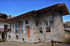 Bousson (Cesana), Casa delle Lapidi #myValsusa 27.11.17 #fotodelgiorno di Franco Plantas