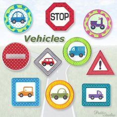 """""""Vehicles"""" Kids will enjoy these #MachineApplique designs on quilts, clothes and gear. Rev up your engines and head our way for yours today!"""