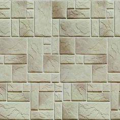 efc7dcaed Papel Parede Tijolo Pedra Adesivo 3d Canjiquinha Rolo 6.00 M - R  69