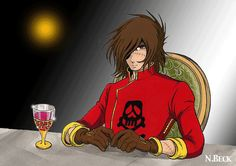 Harlock needs some wine time