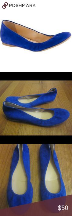 J Crew Cece Suede Ballet Flats Part 1 Size: 8. Style number 46198. Suede upper. Elasticized topline. Cushioned insole with slight interior wedge. Rubber sole. Made in Italy. PLEASE SEE LISTINGS PARTS 2 and 3 FOR ADDITIONAL PICTURES. Thanks! J. Crew Shoes Flats & Loafers